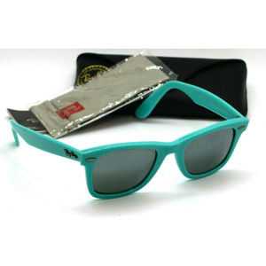 Ray Ban Unisex Wayfarer Classic Blue Sunglasses